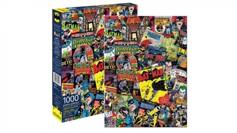 Batman 1000 pcs Retro Collage Puzzle