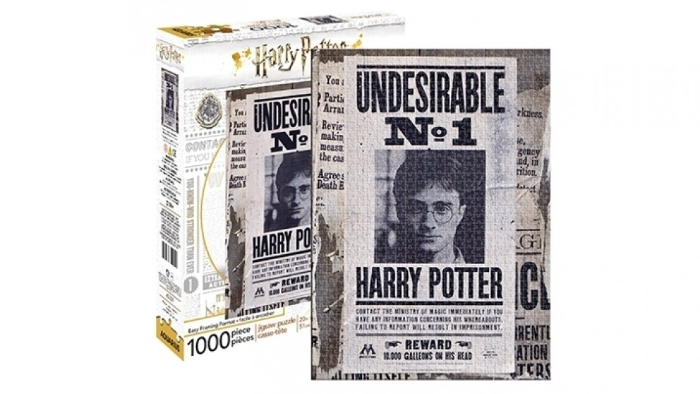 Harry Potter - Undesirable 1000-Pieces Puzzle