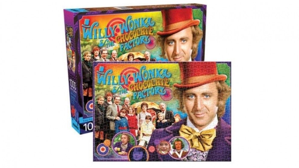 Willy Wonka Collage 1000-Pieces Puzzle