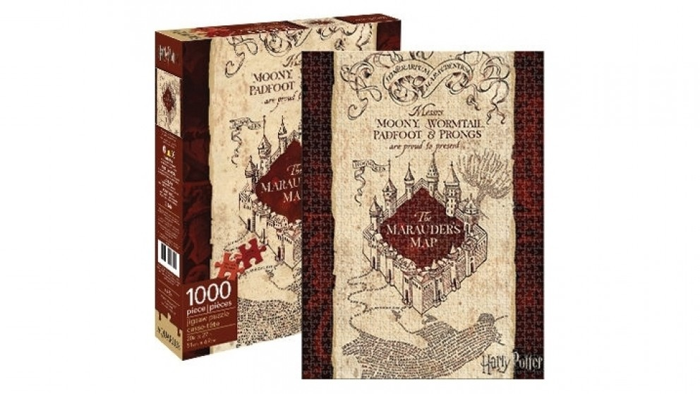 Harry Potter Maruaders Map 1000-Pieces Puzzle