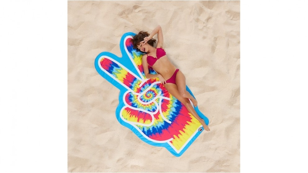 BigMouth Peace Finger Beach Blanket