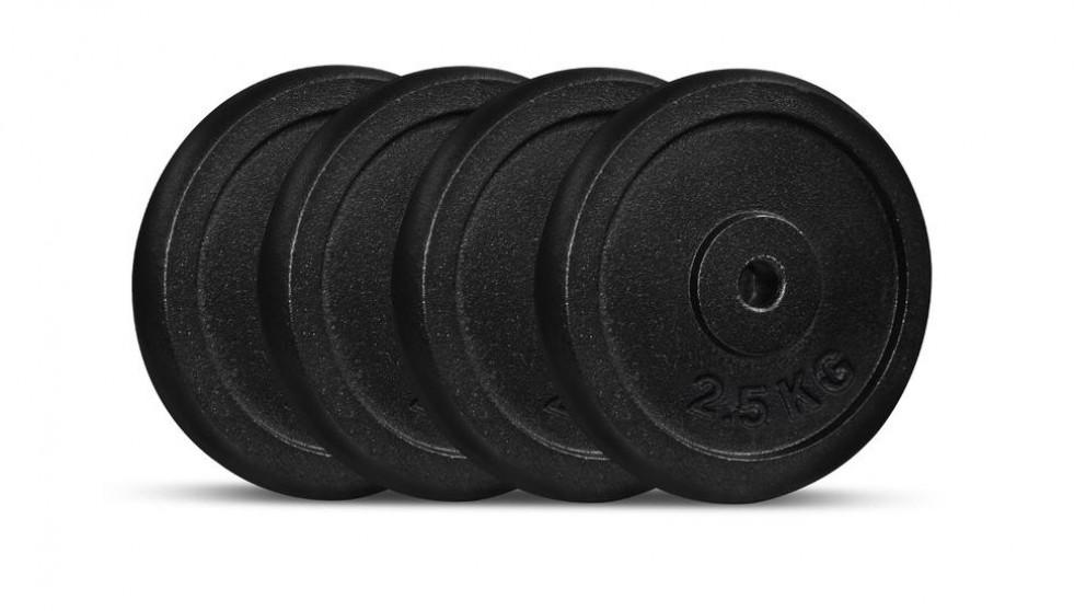 Cortex 2.5kg Cast Iron Plates - 4 Pack