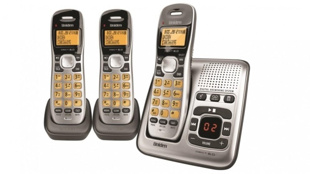 Uniden DECT 1735+2 Cordless Phone System