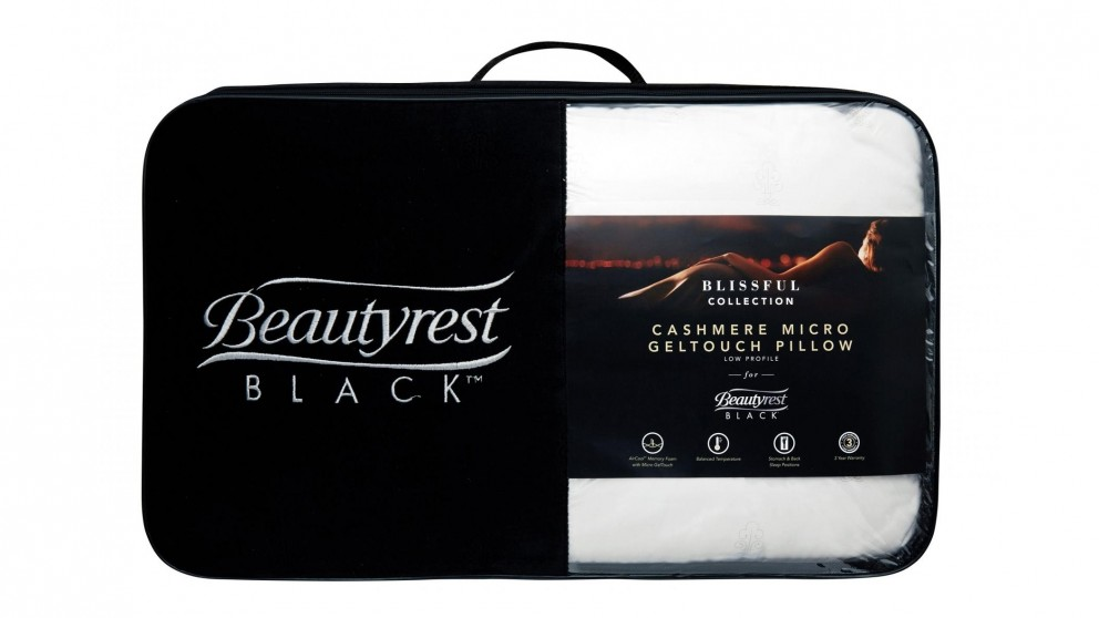 Beautyrest Black Memory Foam Standard Pillow