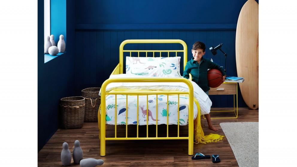 Cali Toddler Single Bed - Yellow