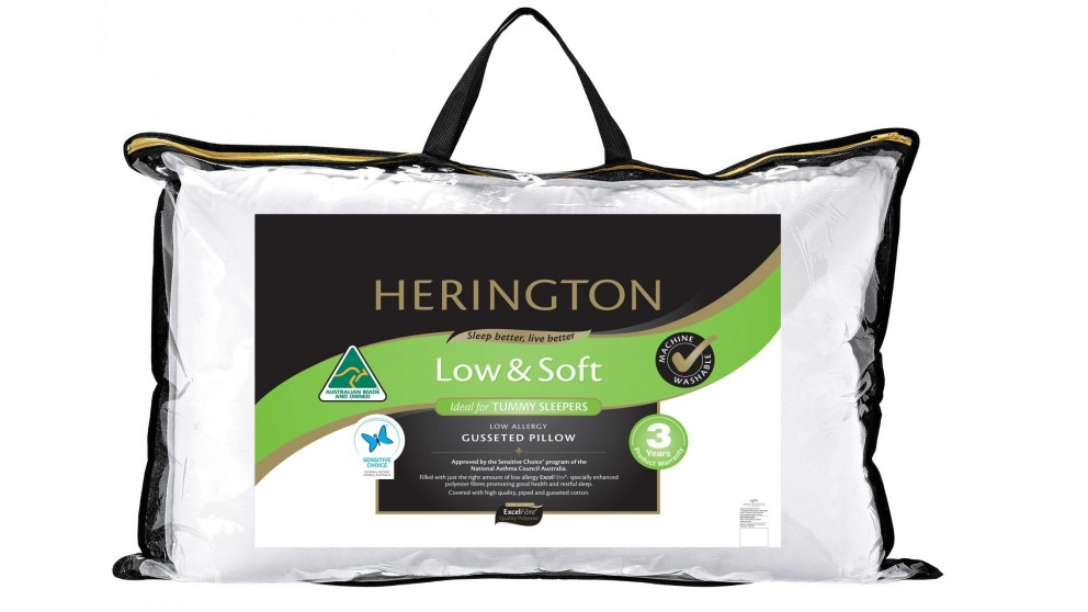 Herington Low & Soft Pillow