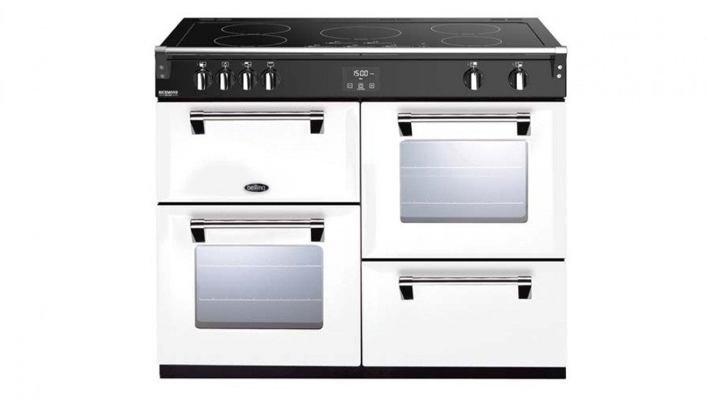 Belling 1100mm Richmond Deluxe Induction Range Cooker - White