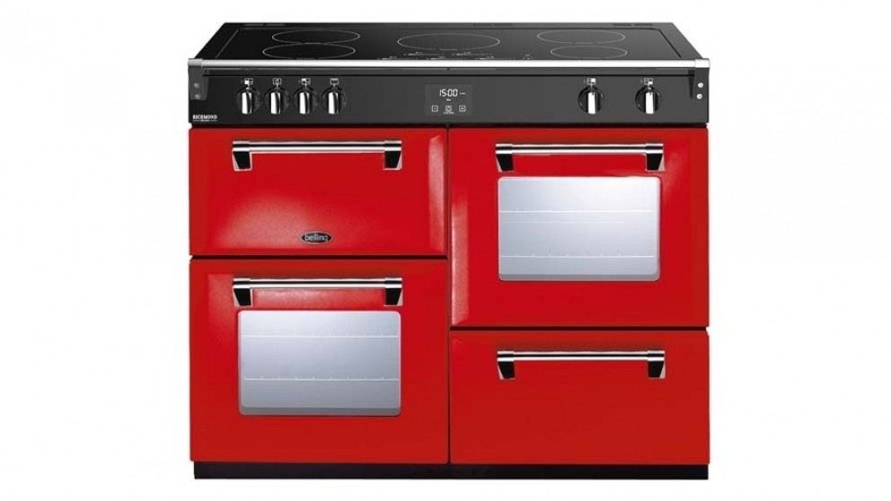 Belling 1100mm Richmond Deluxe Induction Range Cooker - Red