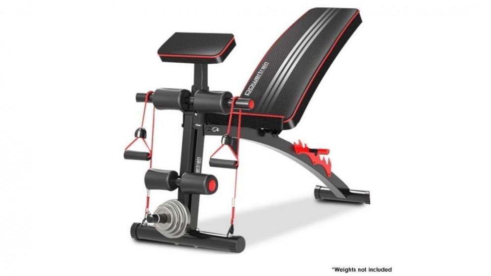 Powertrain Adjustable Gym Fitness Bench