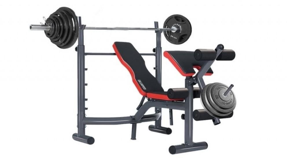 Powertrain Home Gym Fitness Bench Incline Press