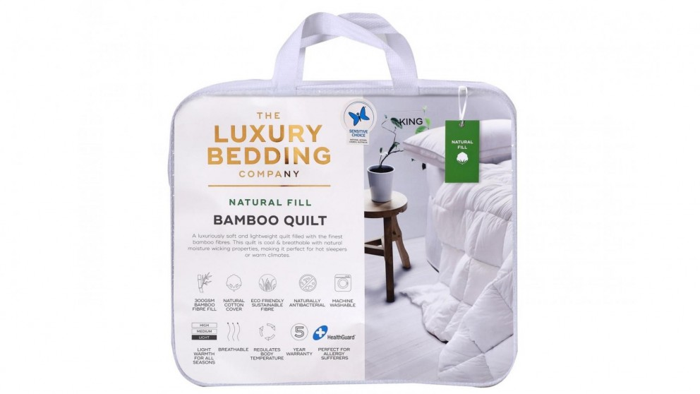 The Luxury Bedding Company Bamboo Quilt