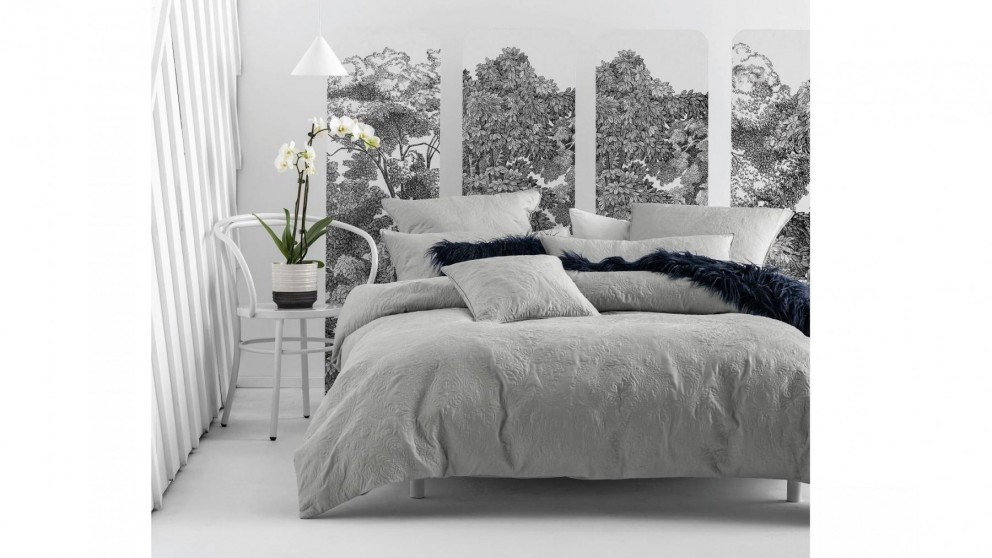 Cavello Silver Quilt Cover Set