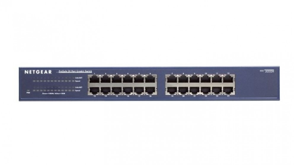 Netgear JGS524PE ProSAFE Plus 24 Port Gigabit Switch with PoE