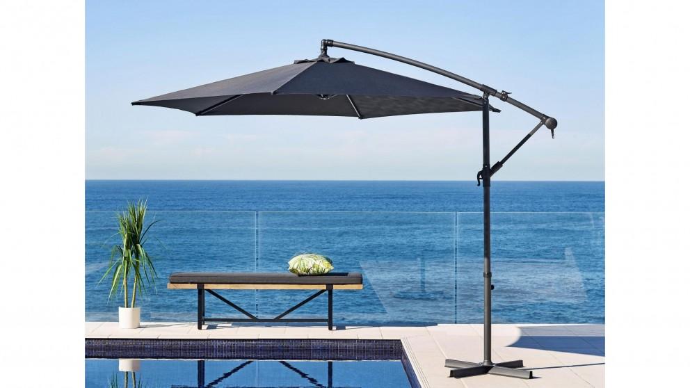 Cyrus 300cm Square Cantilever Outdoor Umbrella