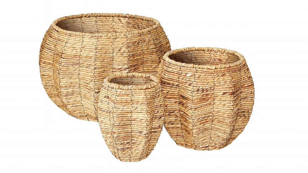 Asher Woven Baskets - Set of 3