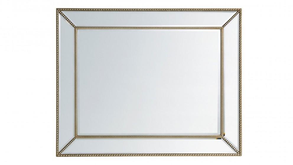 Glass Framed Mirror
