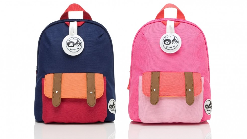 Babymel Mini Backpack and Safety Harness - Reins Age 1-4 Years - Colourblock