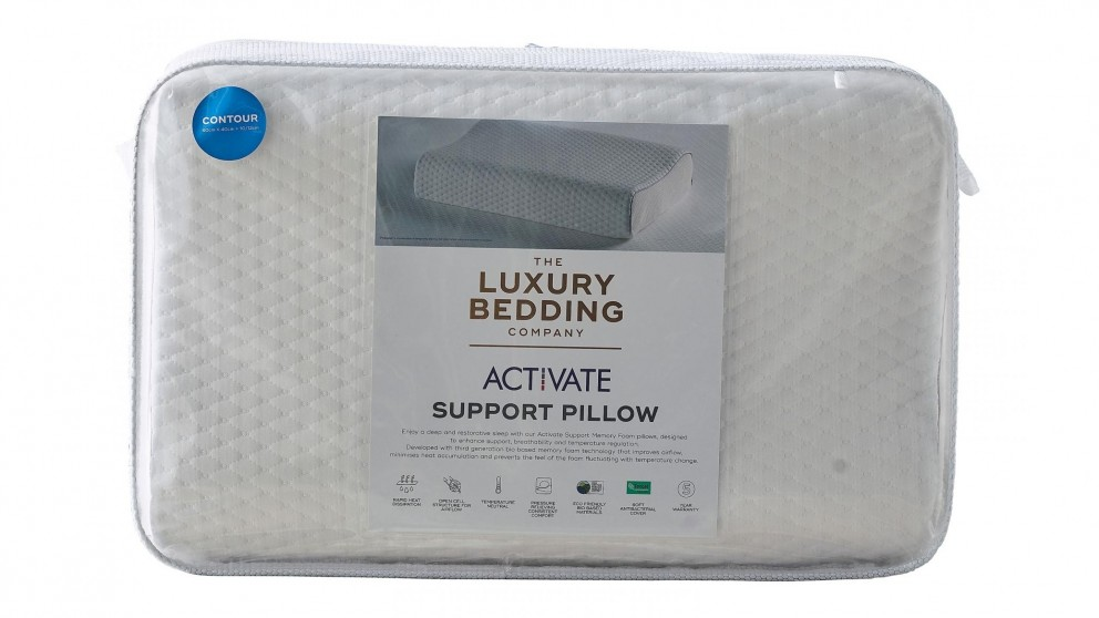 The Luxury Bedding Company Activate Contour Pillow