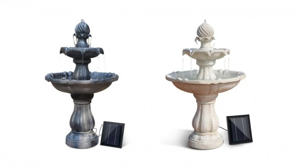 Gardeon 3 Tier Solar Powered Water Fountain