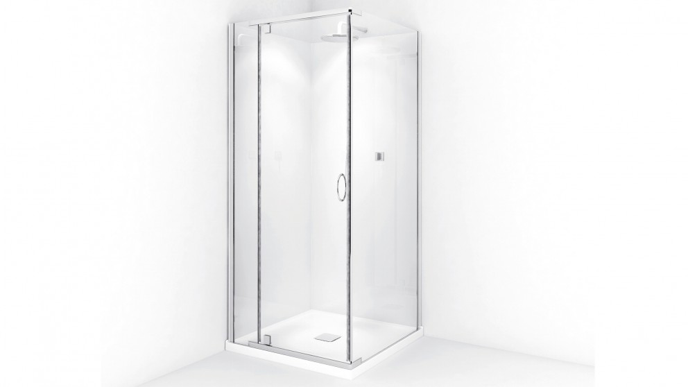 Decina Cascade 1000 Chrome Shower Screen