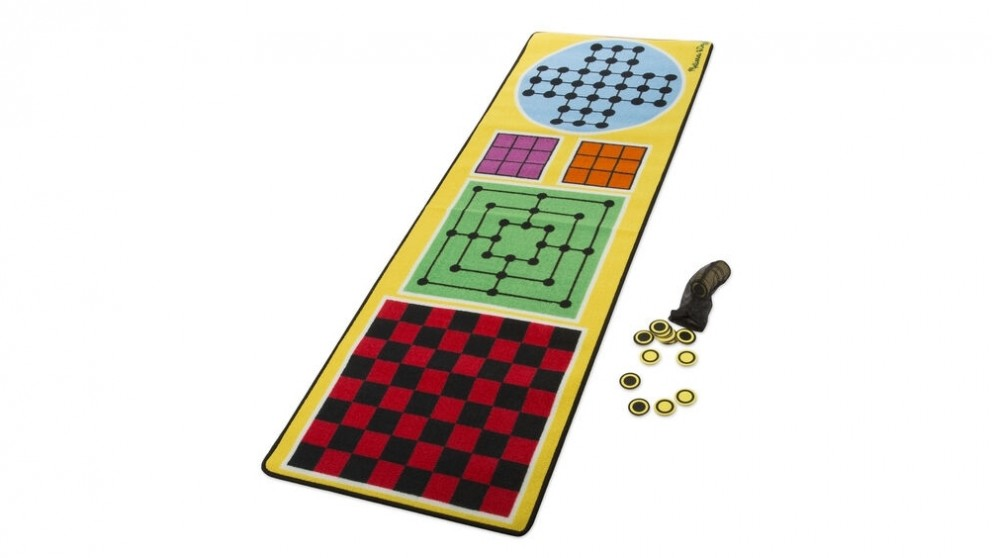 Melissa and Doug 4 in 1 Game Rug