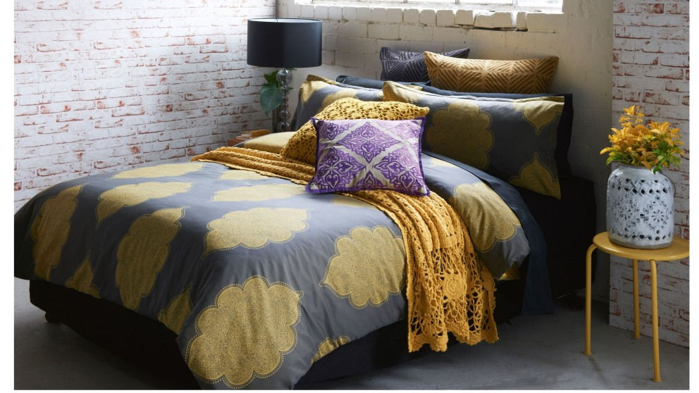 Banaras Gold Quilt Cover
