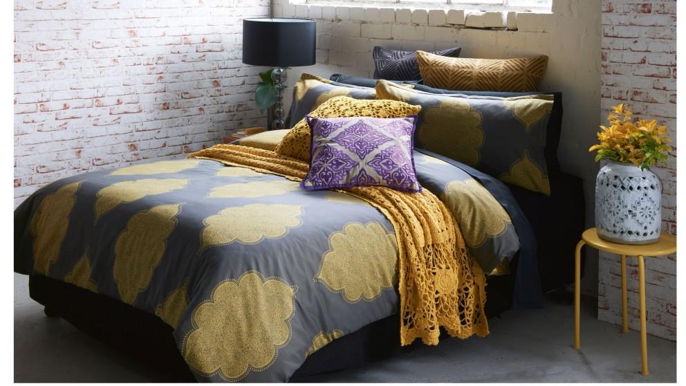 Banaras Gold Quilt Cover