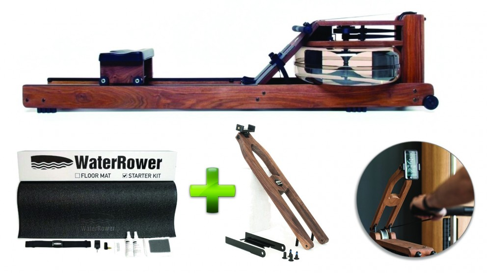 WaterRower Classic Rowing Machine Complete Package
