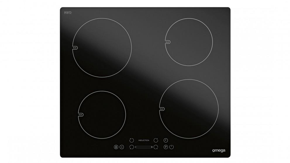 Omega OI64Z 600mm 4 Burner Induction Cooktop