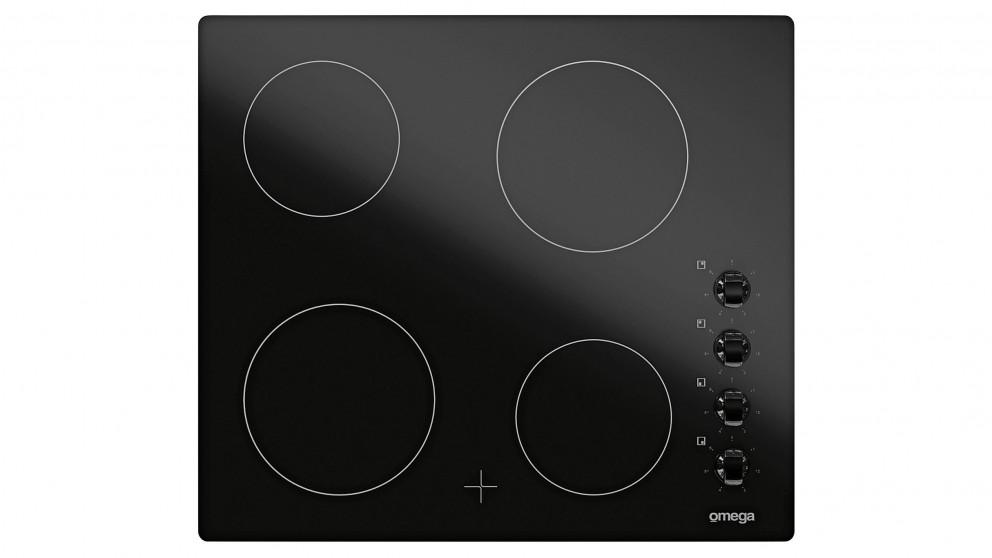 Omega OC64KZ 600mm 4 Burner Ceramic Cooktop