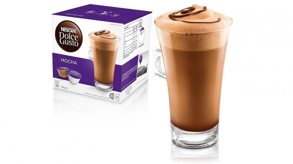 Nescafe Dolce Gusto Mocha Coffee Capsules