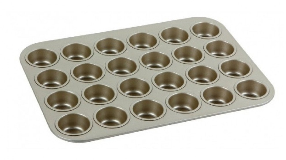 Neoflam Eat Bake Taste 24 Cup Mini Muffin Pan - Bronze