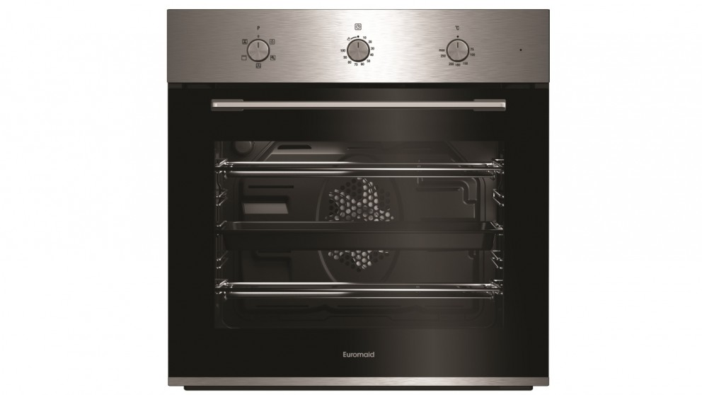 Euromaid Eclipse 600mm Fan Forced Multifunction Oven - Stainless Steel