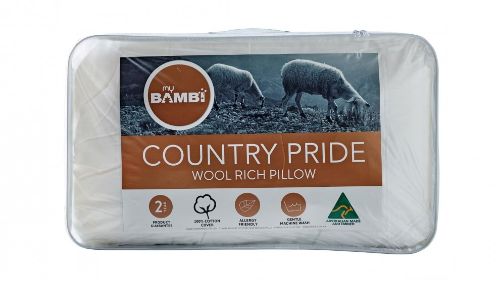 Country Pride Wool Rich Standard Pillow