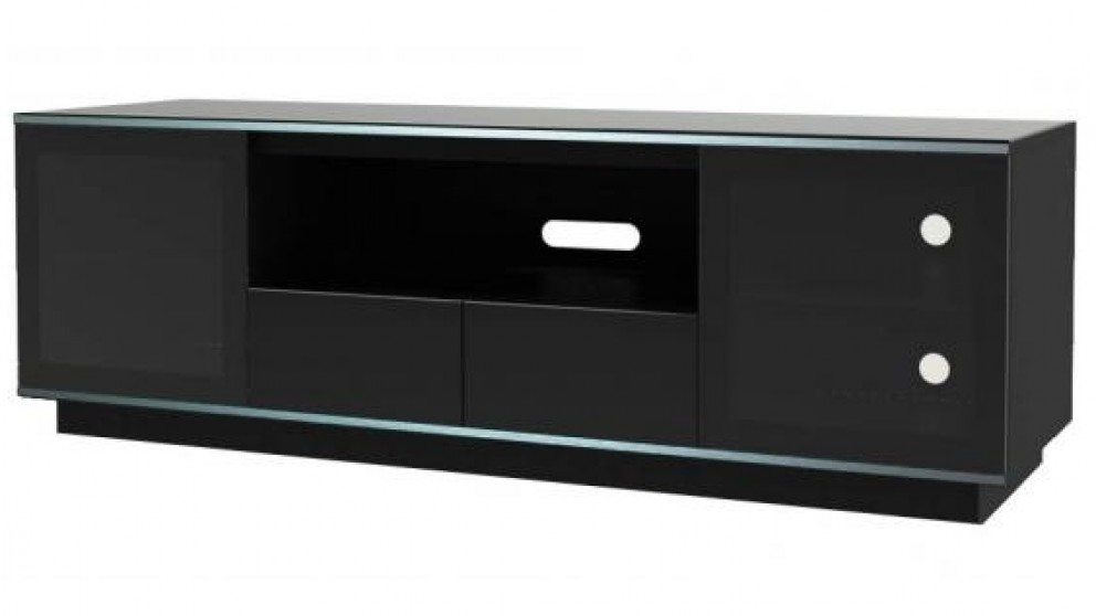 Tauris Titan 1800mm TV Cabinet - Black