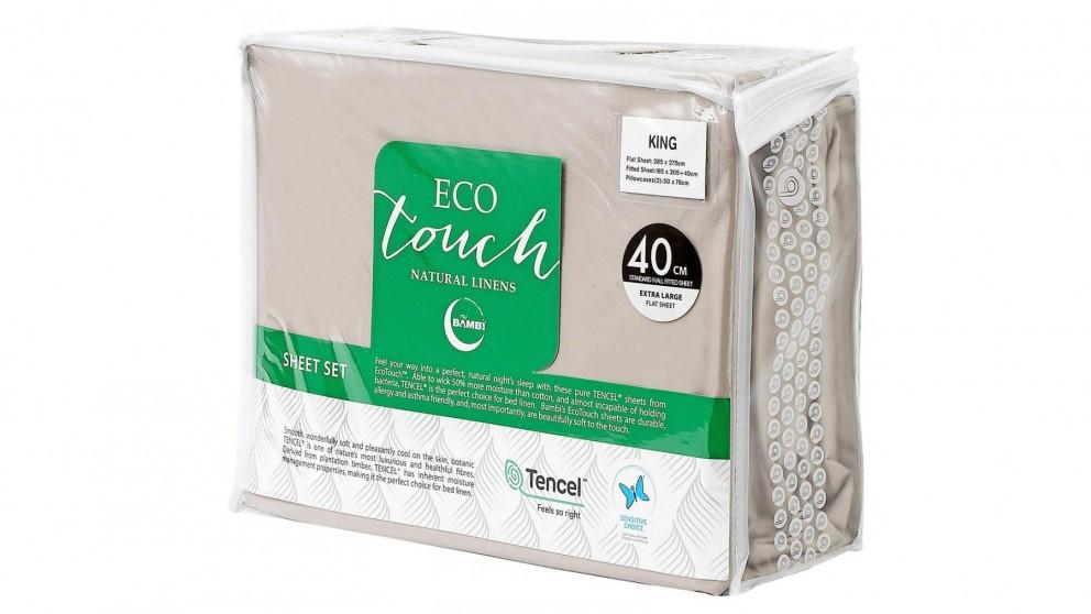 Bambi Eco Touch Tencel Linen Sheet Set - Queen