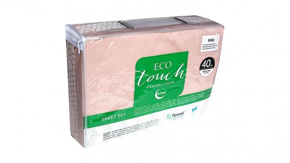 Bambi Eco Touch Tencel Blush Sheet Set