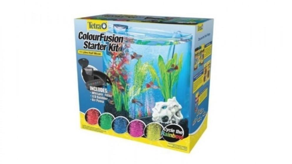 Tetra Fusion 11L Half Moon Fish Tank