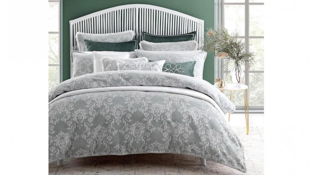 Matisse Eucalyptus Quilt Cover Set