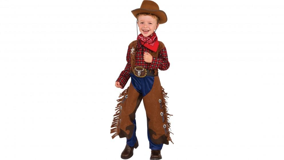 Little Wrangler Cowboy Costume