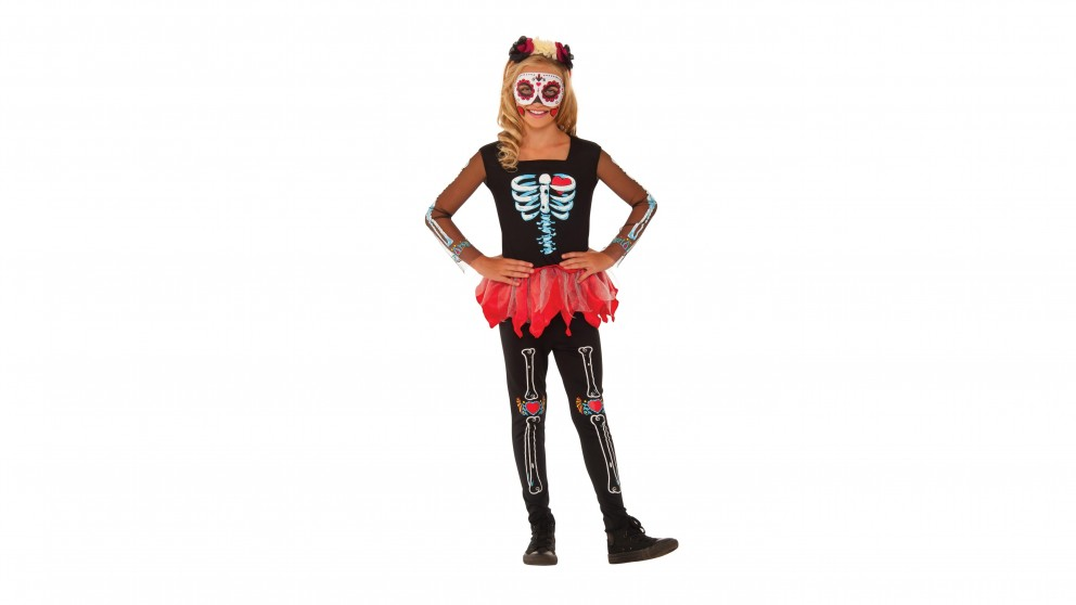 Scared To The Bone Skeleton Costume