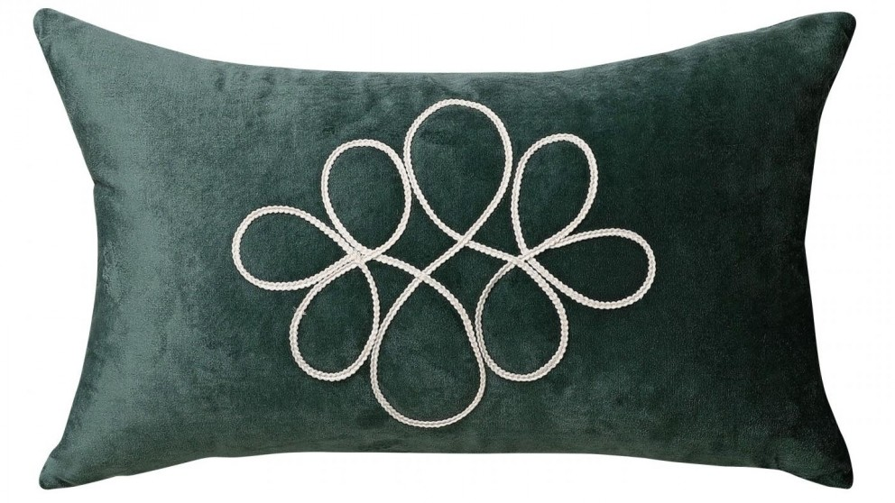 Matisse Eucalyptus Velvet Cushion