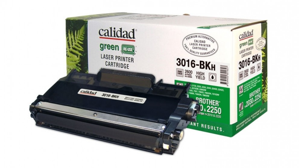 Calidad High Yield Toner Cartridge for Brother TN2250/2030