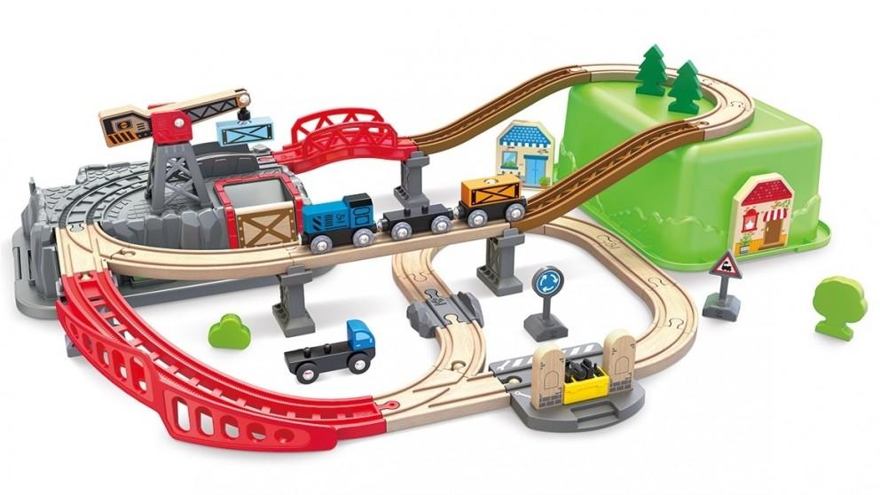 Hape Railway Bucket-Builder-Set
