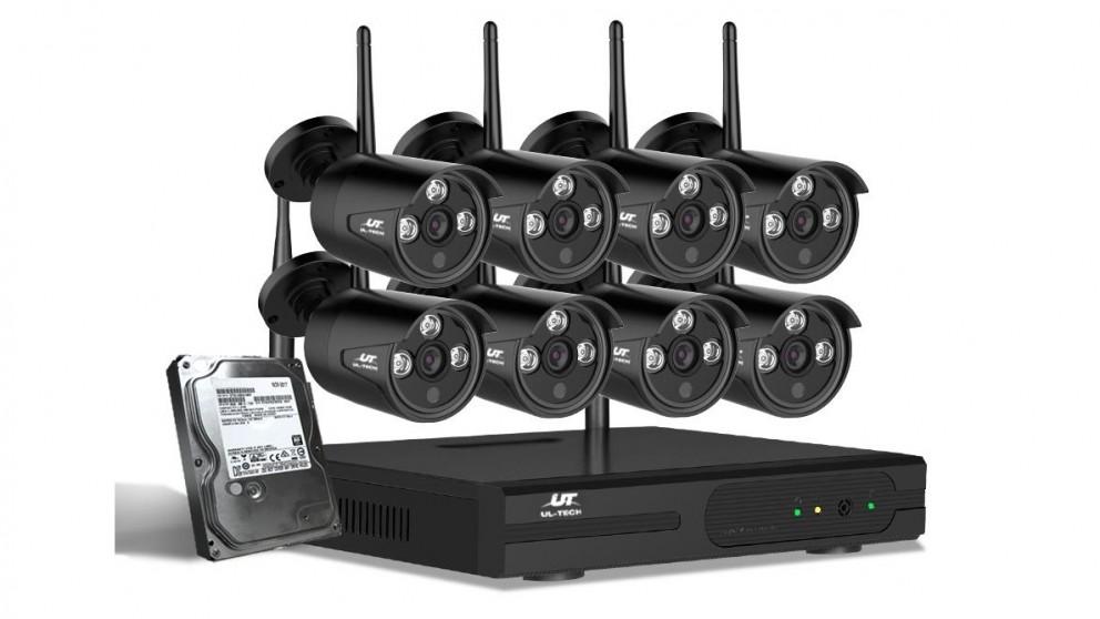 UL-tech CCTV Security 8 Bullet Kit