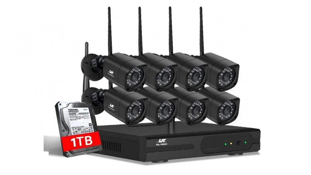UL-tech CCTV Security 8 Square Kit