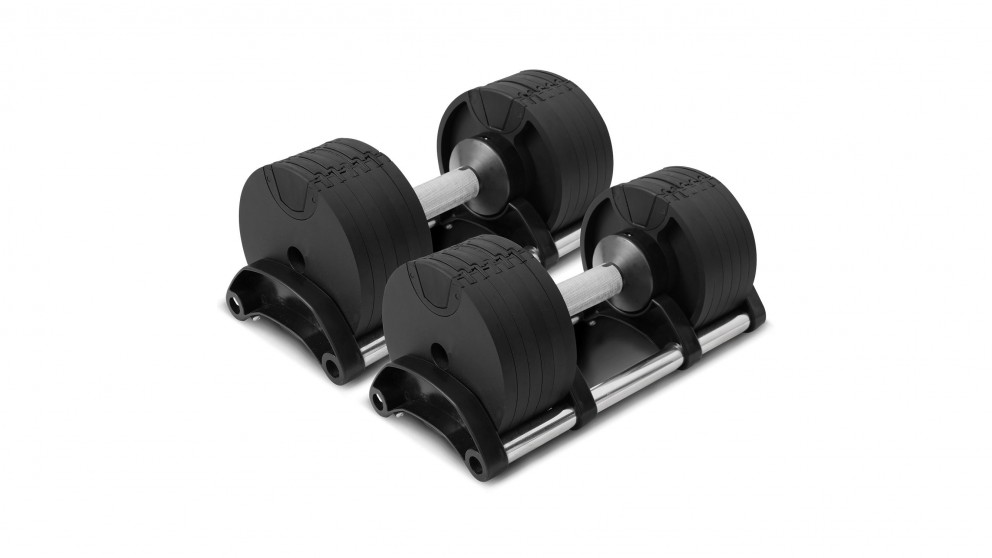 Lifespan Fitness Revolock 64kg Adjustable Dumbbell Set