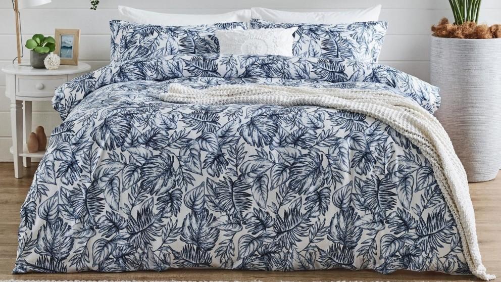L'Avenue Phoenix Blue Quilt Cover Set
