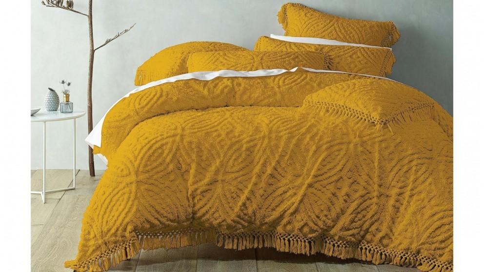 Savannah Mustard Quilt Cover Set