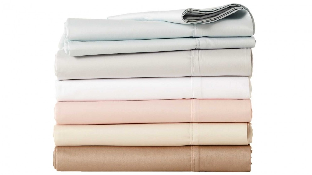 L'Avenue White Single Sheet Set (40cm)